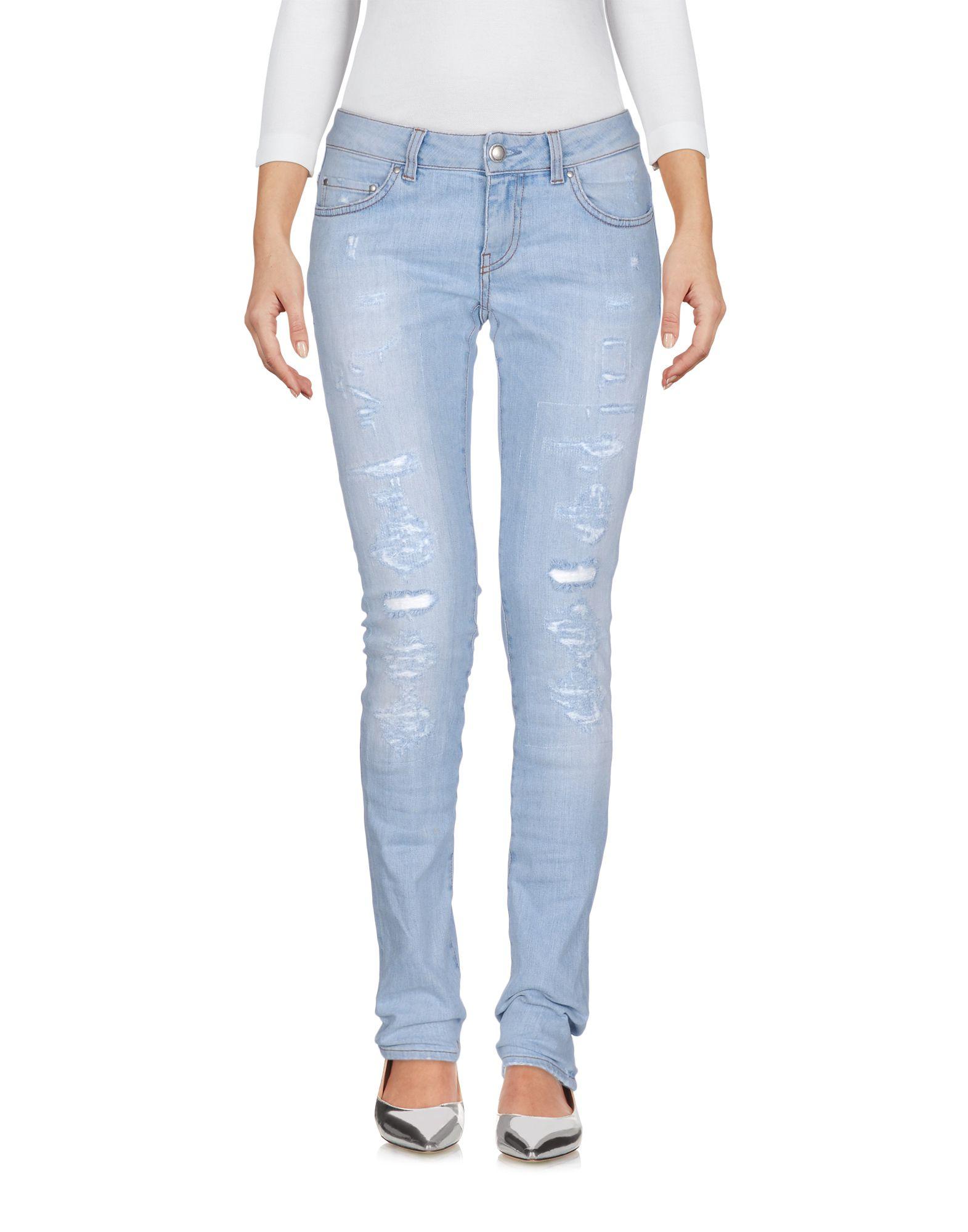 ФОТО aglini джинсовые брюки