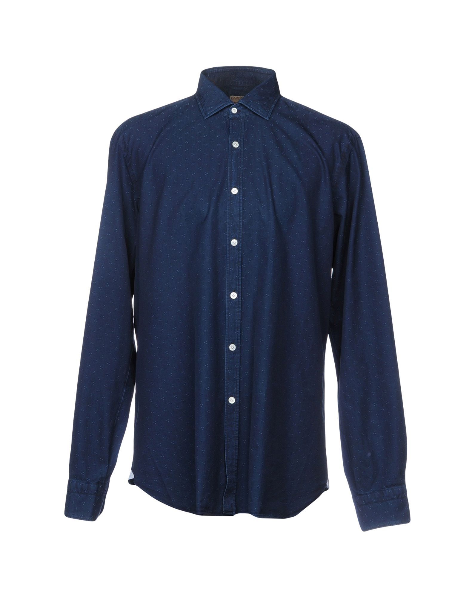 купить BARBA Napoli Джинсовая рубашка по цене 12250 рублей
