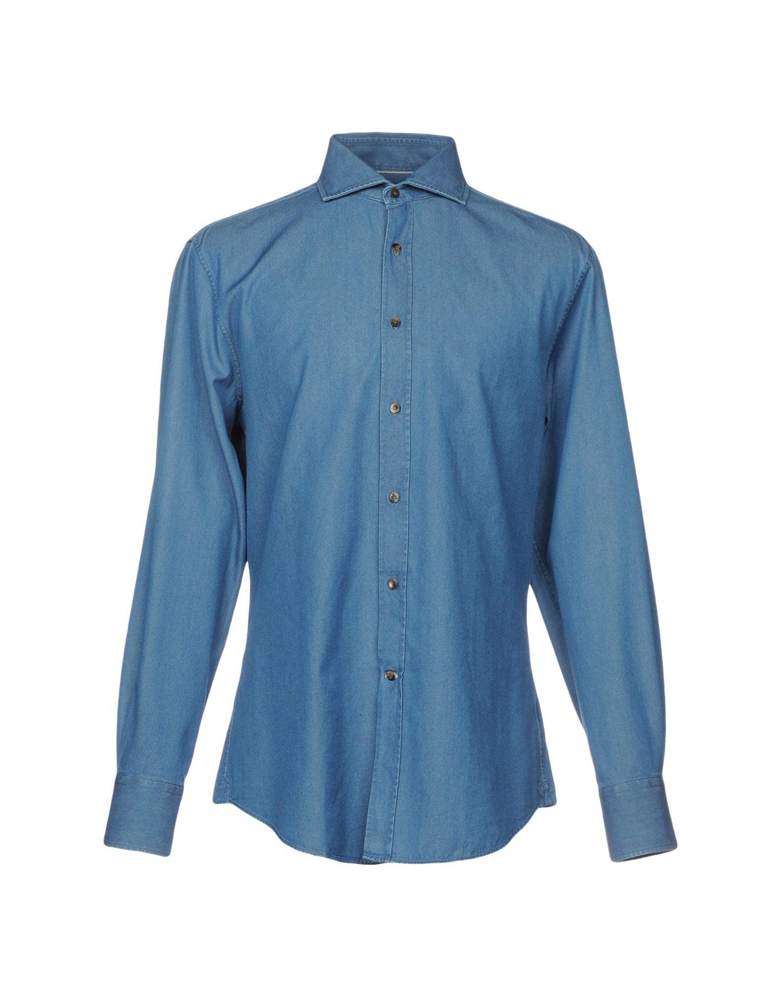 BRUNELLO CUCINELLI Джинсовая рубашка рубашка джинсовая 3 12 лет