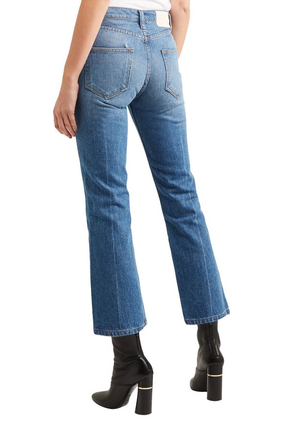Strawberry Cowbody cropped embroidered high-rise bootcut jeans | BLISS AND  MISCHIEF | Sale up to 70% off | THE OUTNET