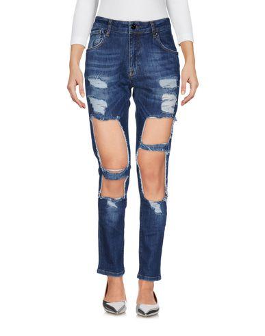 Фото - Джинсовые брюки от JIJIL LE BLEU синего цвета