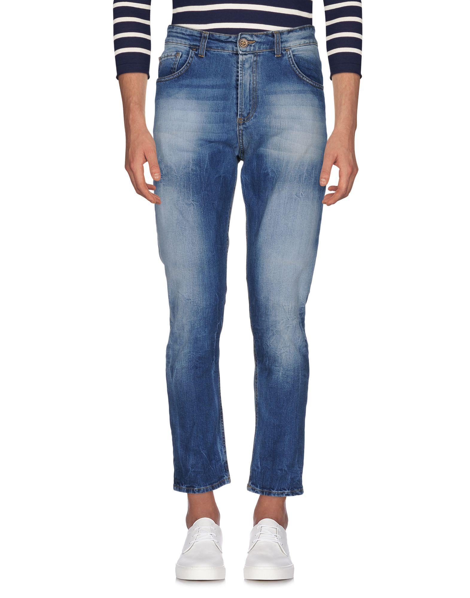 《セール開催中》PHIL GREY メンズ ジーンズ ブルー 34 コットン 98% / ポリウレタン 2%