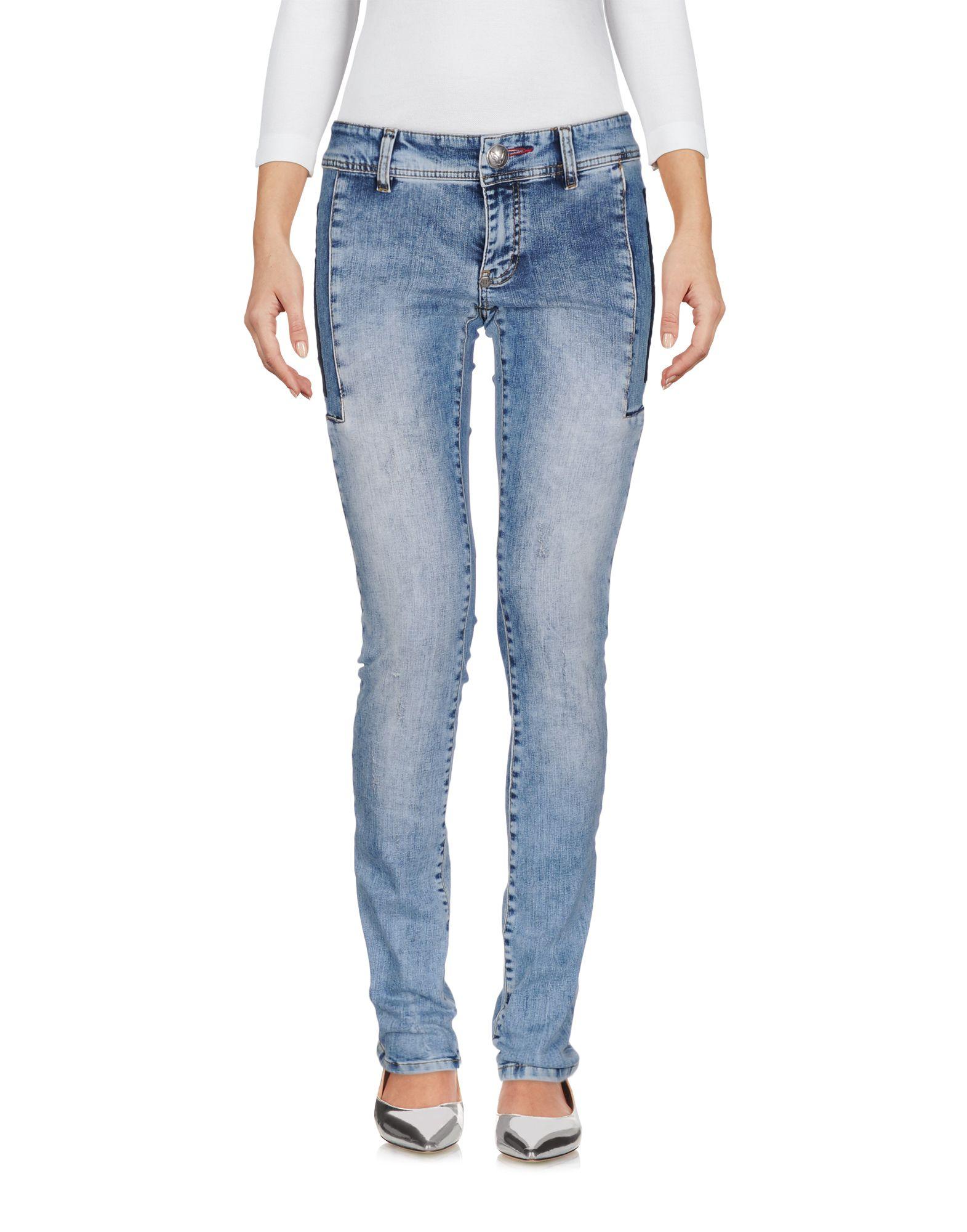 ФОТО philipp plein джинсовые брюки