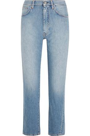 TOTÊME Original cropped mid-rise slim-leg jeans