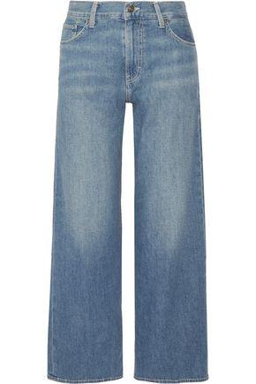 VINCE. High-rise wide-leg jeans