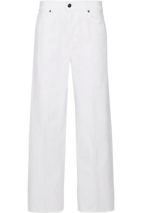 VINCE. Mid-rise straight-leg jeans