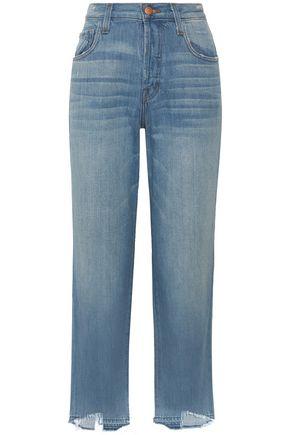 J BRAND Ivy high-rise straight-leg jeans
