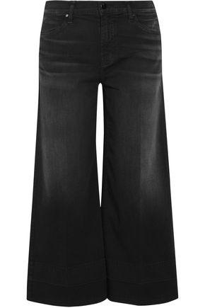 J BRAND Liza cropped mid-rise wide-leg jeans