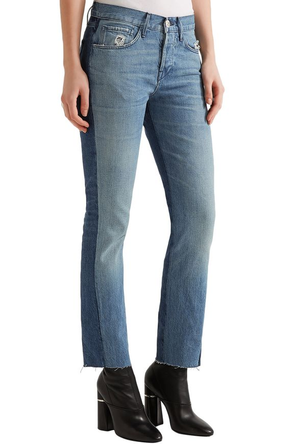 Cropped mid-rise straight-leg jeans | 3x1 | Sale up to 70% off | THE OUTNET
