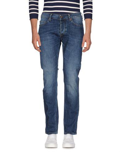 Фото - Джинсовые брюки от TELA GENOVA синего цвета