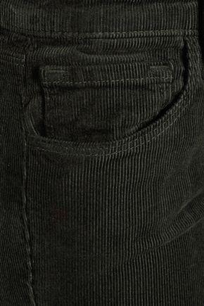 J BRAND Selena cropped cotton-blend corduroy bootcut pants