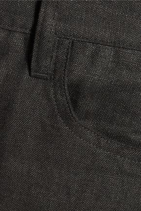 SIMON MILLER Toma linen bootcut pants