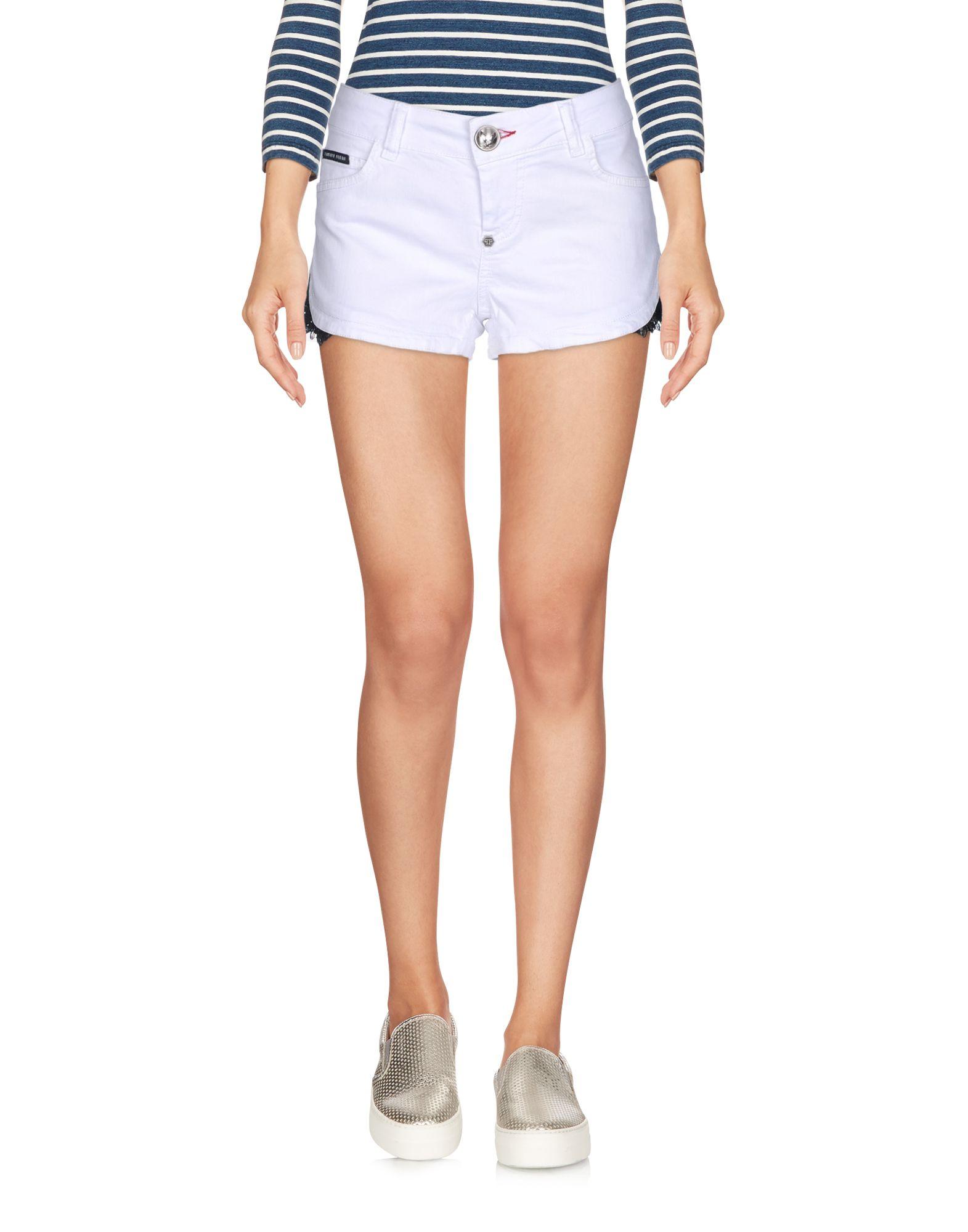 PHILIPP PLEIN Джинсовые шорты футболка via montenapoleone philipp plein