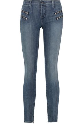 J BRAND Cass mid-rise skinny jeans