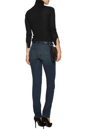 J BRAND Jude mid-rise straight-leg jeans