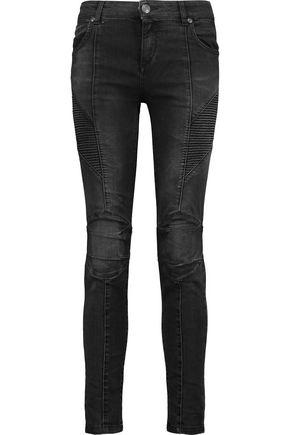 PIERRE BALMAIN High-rise skinny jeans