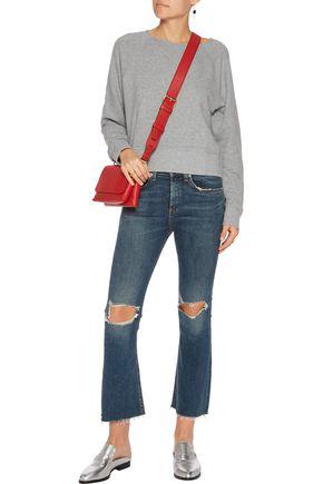 RAG & BONE Mid-rise distressed flared jeans