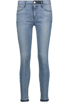 RTA Prince mid-rise cropped skinny jeans