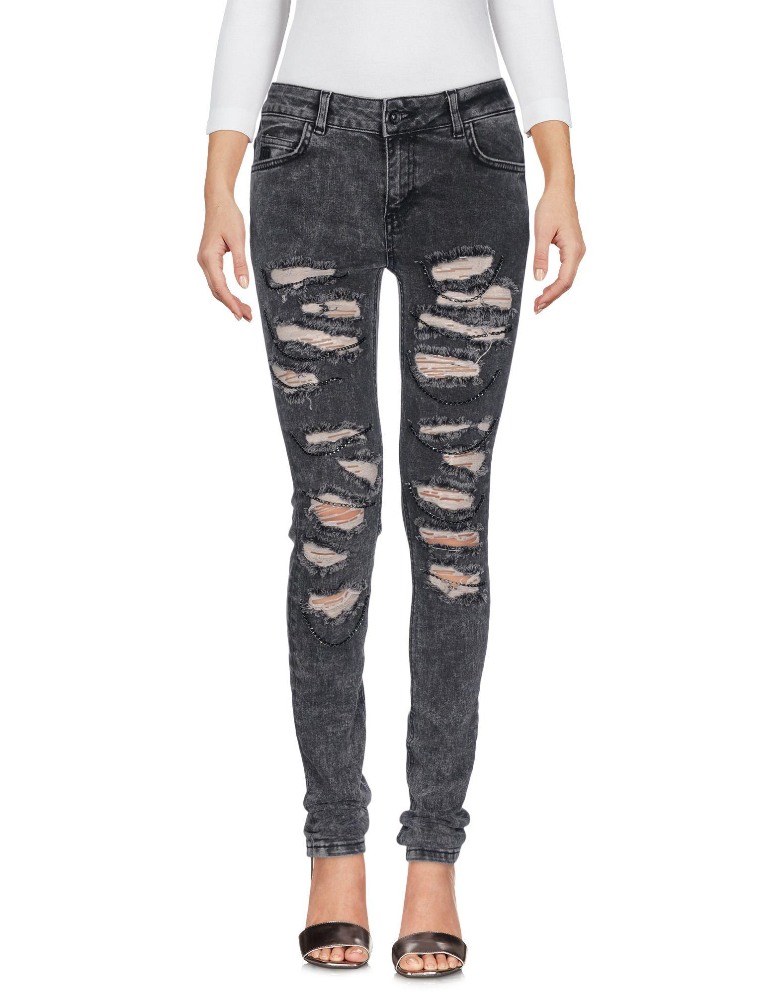 Фото !M?ERFECT Джинсовые брюки. Купить с доставкой