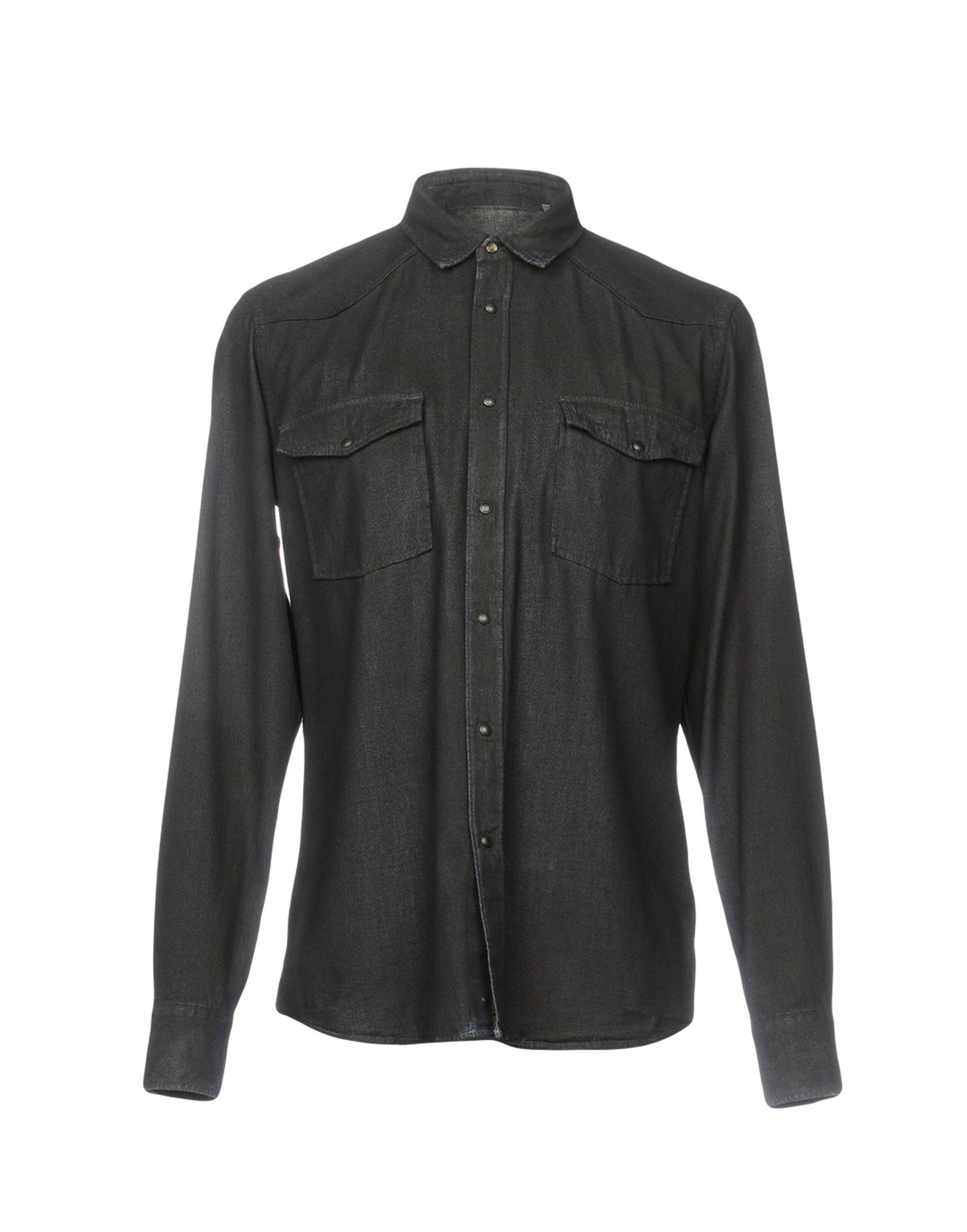 MAURO GRIFONI Джинсовая рубашка джинсовая рубашка quelle arizona 610860