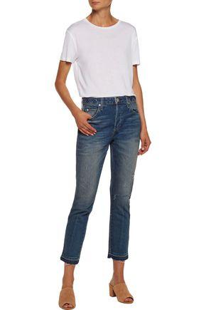 AMO Babe mid-rise slim-leg jeans