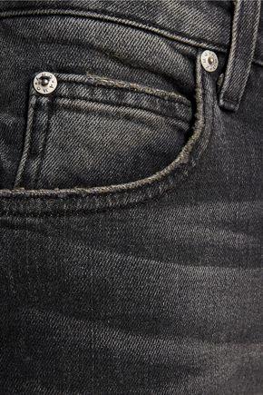 AMO Twist Zip cropped mid-rise skinny jeans