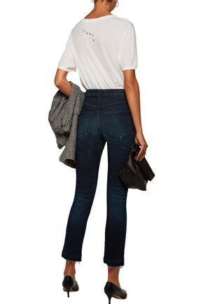 AMO Babe high-rise slim-leg jeans