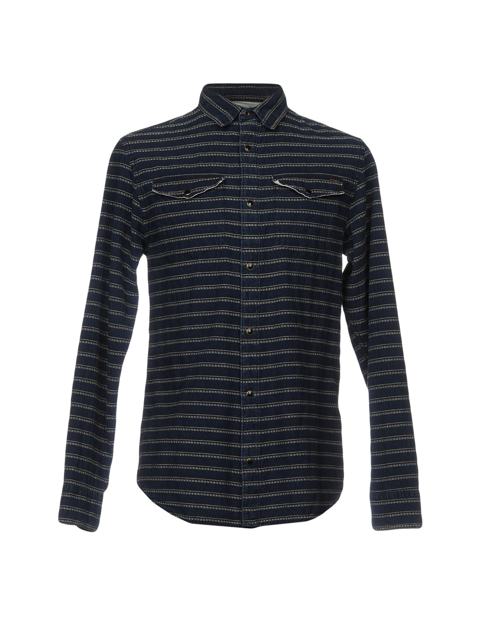 JACK & JONES Джинсовая рубашка рубашка джинсовая jack