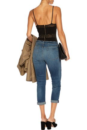 J BRAND Sadey mid-rise straight-leg jeans