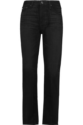 AG ADRIANO GOLDSCHMIED Phoebe high-rise straight-leg jeans