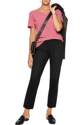 AG Jeans Phoebe high-rise straight-leg jeans