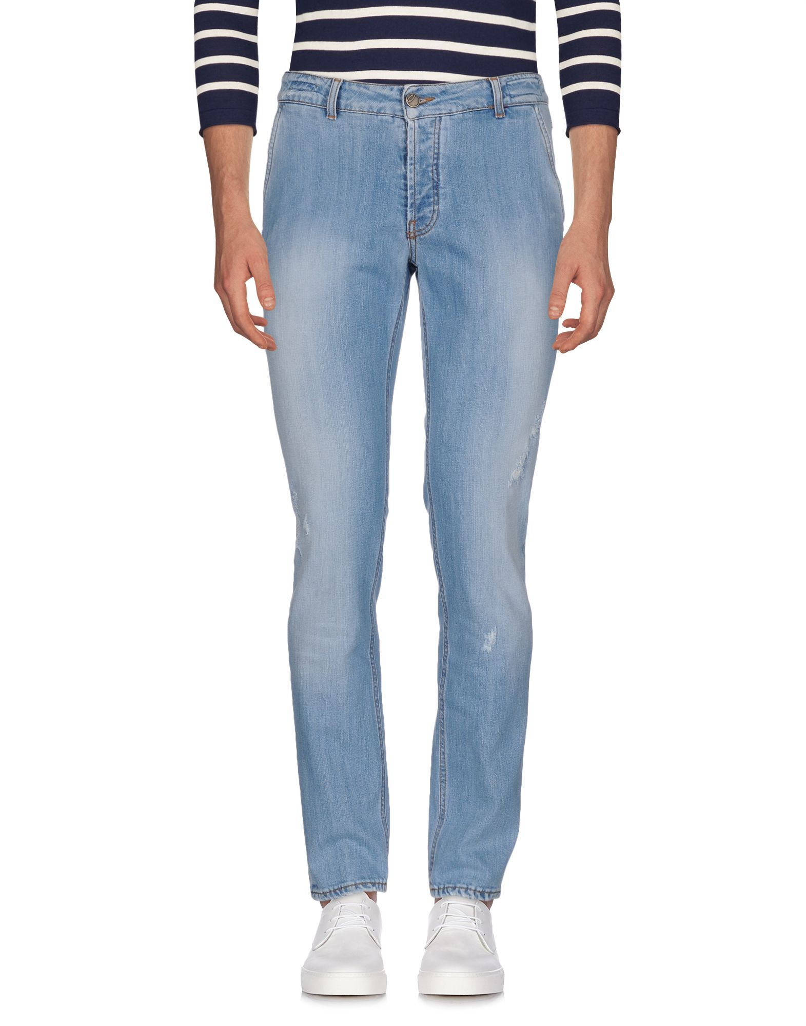 Фото MICHAEL COAL Джинсовые брюки. Купить с доставкой
