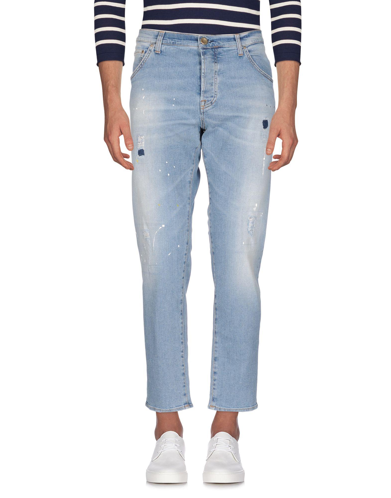 AGLINI Джинсовые брюки dismero джинсовые брюки