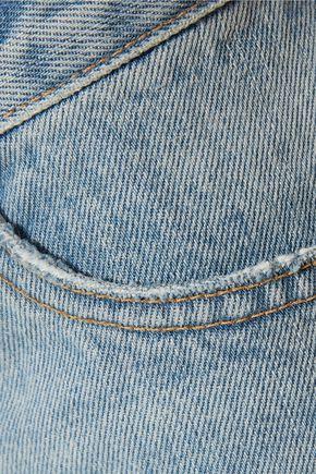 SIMON MILLER Yerma cropped distressed boyfriend jeans
