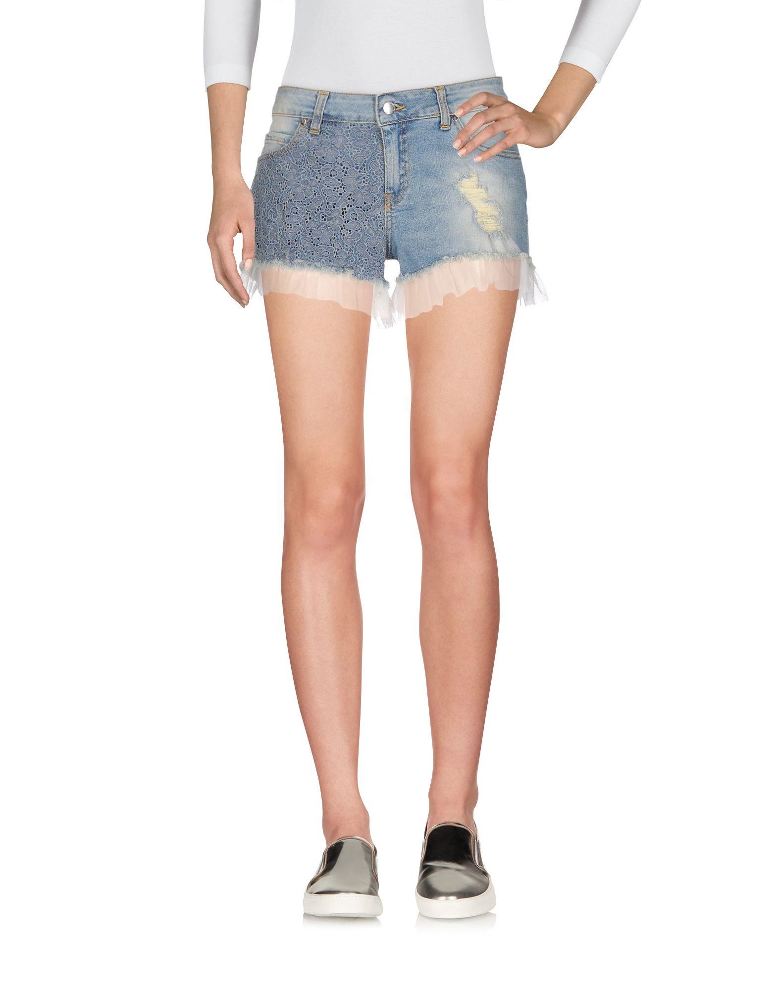 PAOLO CASALINI Джинсовые шорты брюки paolo casalini цвет чёрный