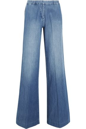 MICHAEL KORS COLLECTION High-rise wide-leg jeans