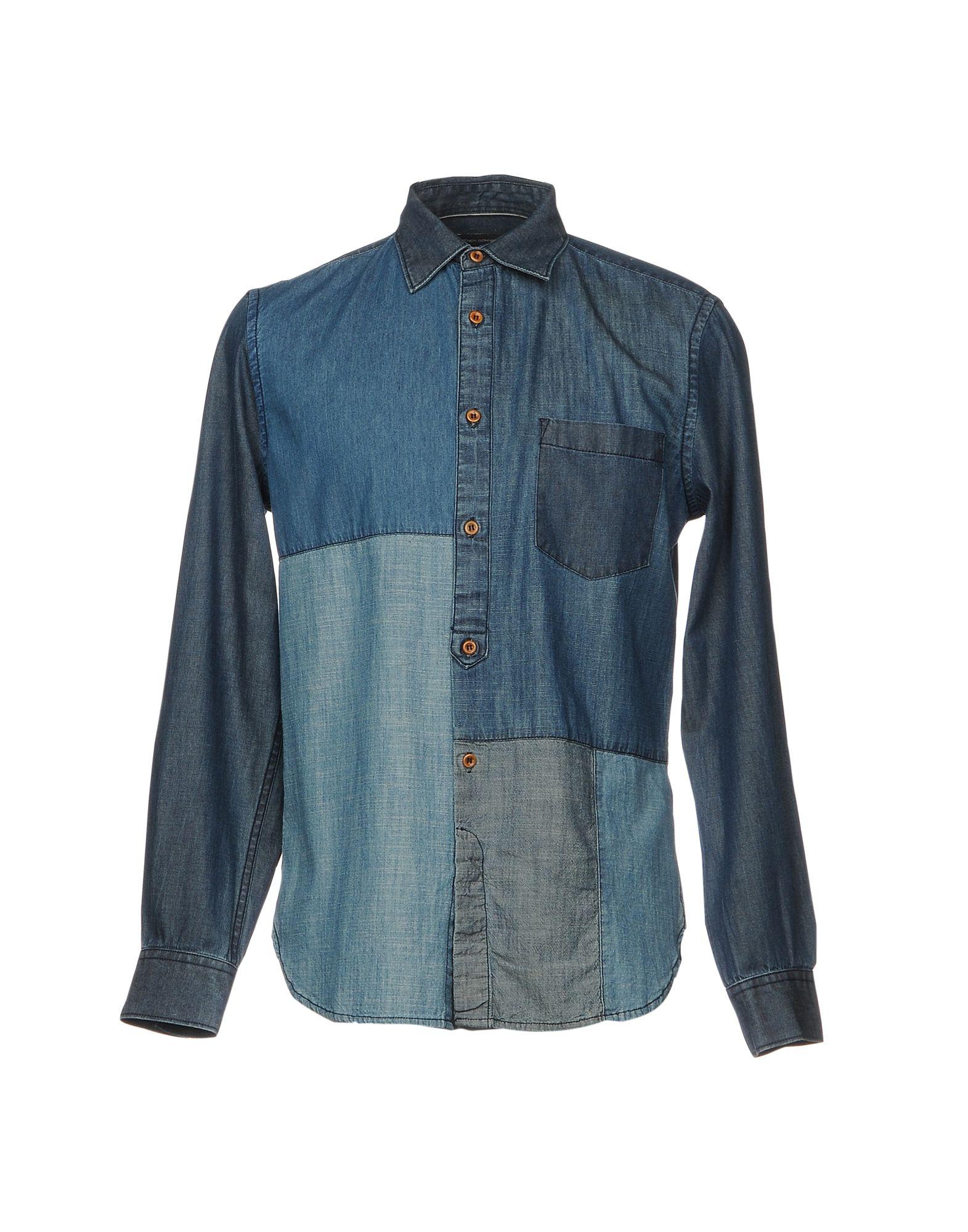 цены FRENCH CONNECTION Джинсовая рубашка