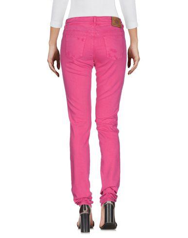 Фото 2 - Джинсовые брюки от ERMANNO DI ERMANNO SCERVINO цвета фуксия