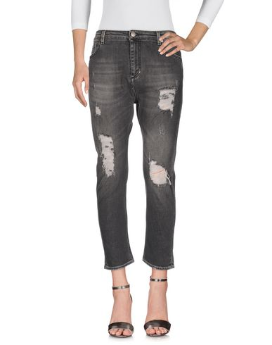 Фото - Джинсовые брюки от DW FIVE цвет стальной серый