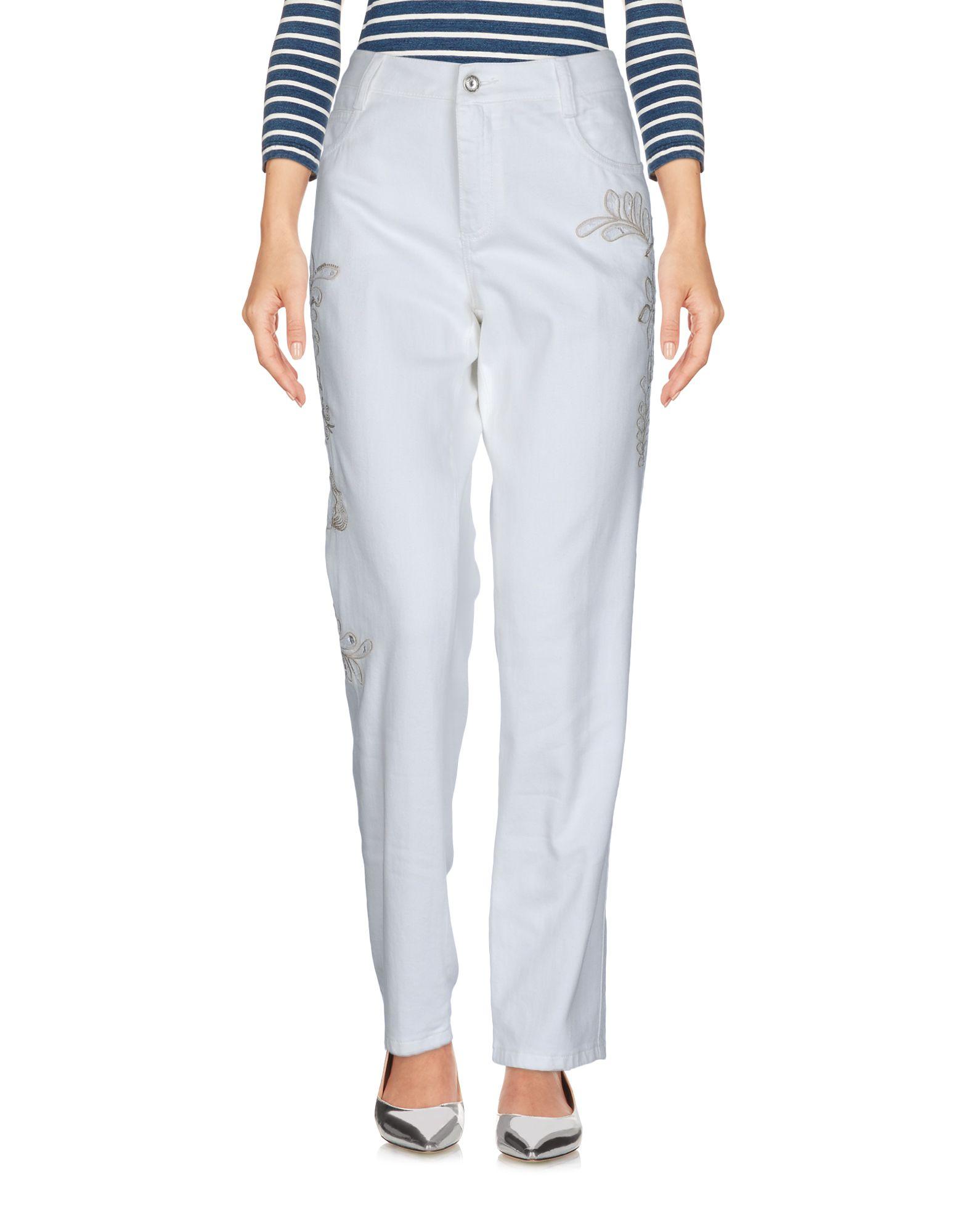 где купить ERMANNO SCERVINO Джинсовые брюки по лучшей цене