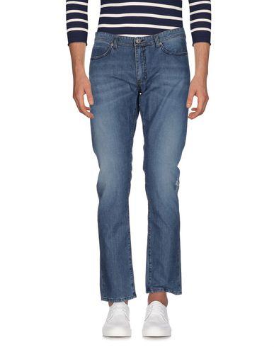 Фото - Джинсовые брюки от PAOLO PECORA синего цвета