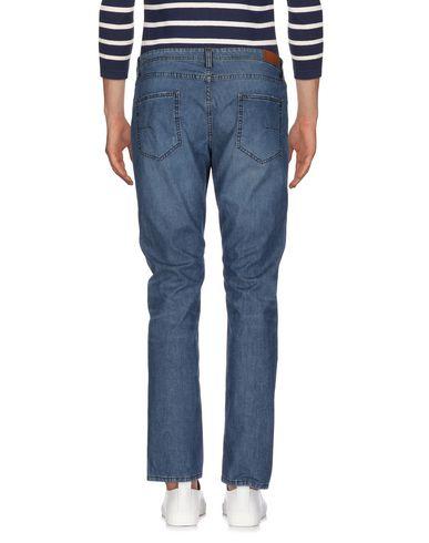 Фото 2 - Джинсовые брюки от PAOLO PECORA синего цвета