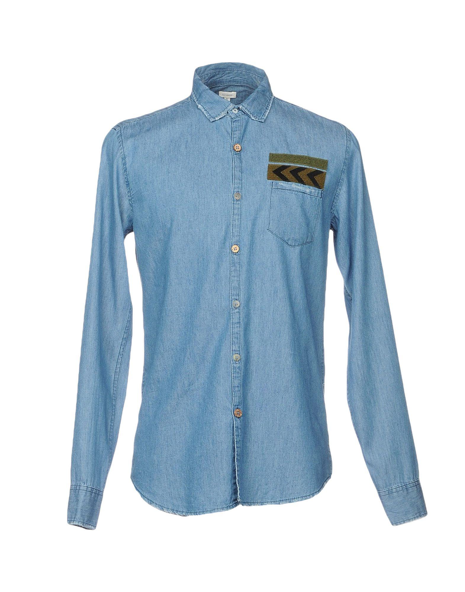 купить SCOUT Джинсовая рубашка дешево