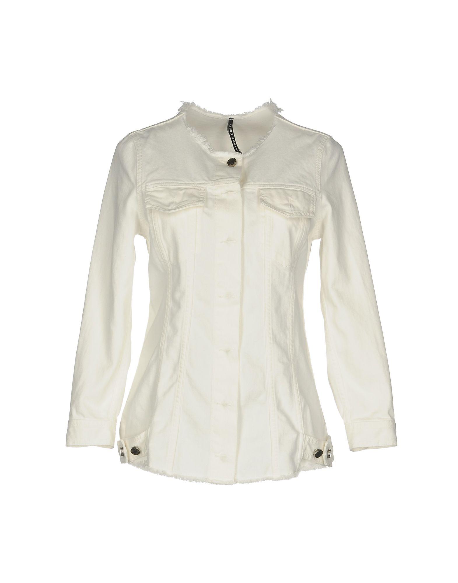 LIVIANA CONTI Джинсовая верхняя одежда верхняя одежда