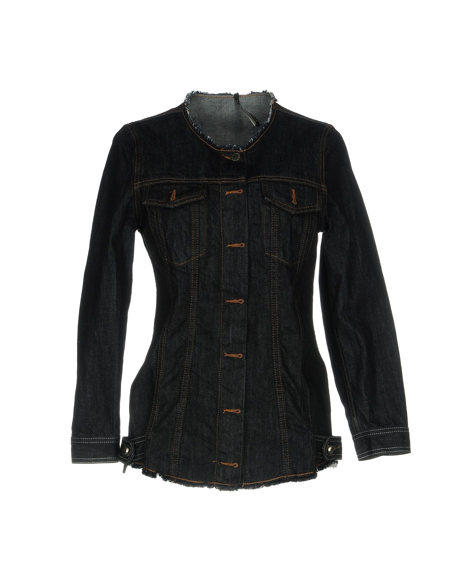 LIVIANA CONTI Джинсовая верхняя одежда wood wood джинсовая верхняя одежда