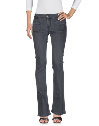 Фото - Джинсовые брюки цвет стальной серый