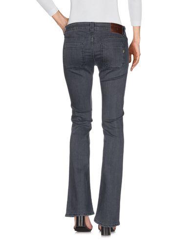 Фото 2 - Джинсовые брюки цвет стальной серый
