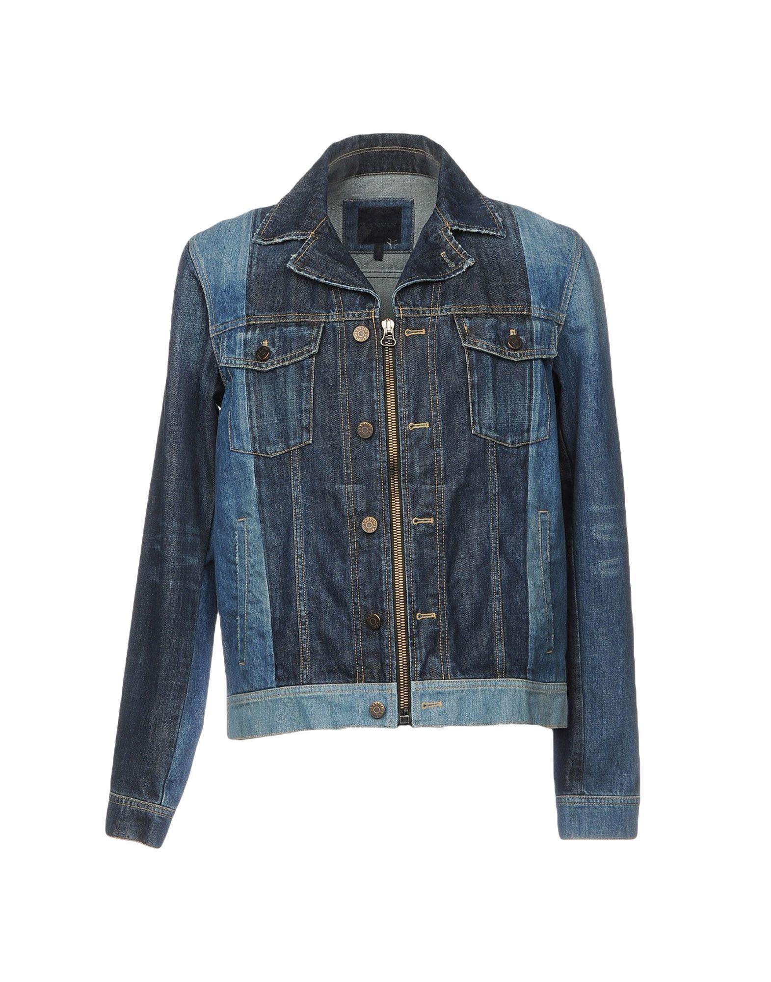 LANVIN Джинсовая верхняя одежда reiko джинсовая верхняя одежда