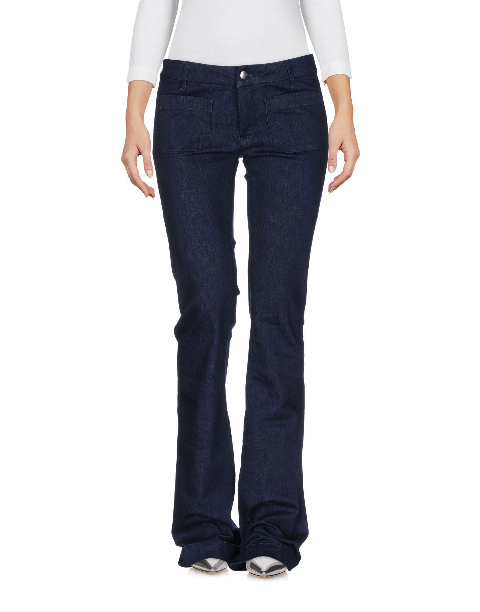 THE SEAFARER Джинсовые брюки the seafarer замшевые расклешенные брюки
