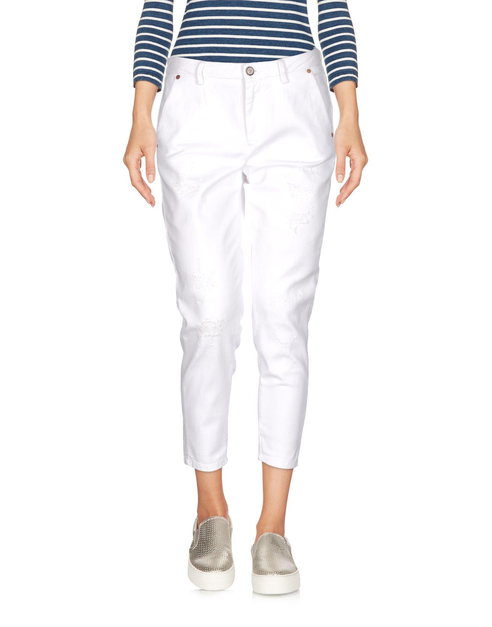 BLAUER Джинсовые брюки-капри